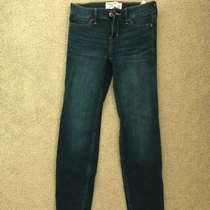Abercrombie Kids dark wash jeans
